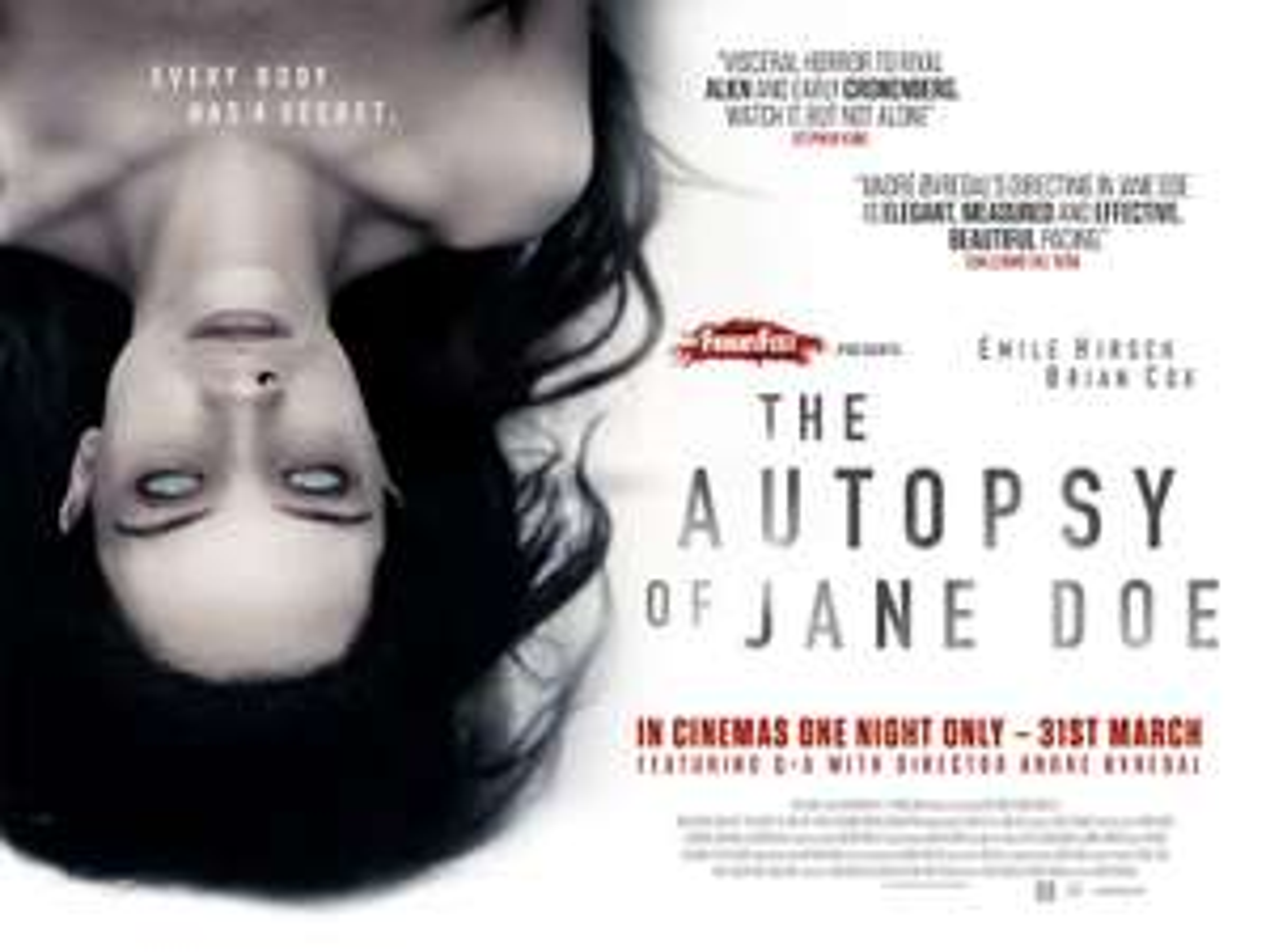 The Autopsy of Jane Doe (HD) zum Leihen für 0,99€ [Amazon Video]