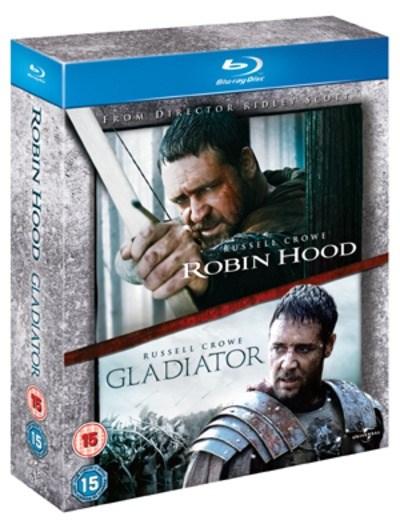 Robin Hood + Gladiator (2x Blu-ray) für 6,20€ (Zoom.co.uk)