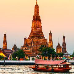 Flüge: Thailand [April - November] - Hin- und Rückflug mit der 5* Airline Etihad Airways von München nach Bangkok ab nur 411€ inkl. Gepäck