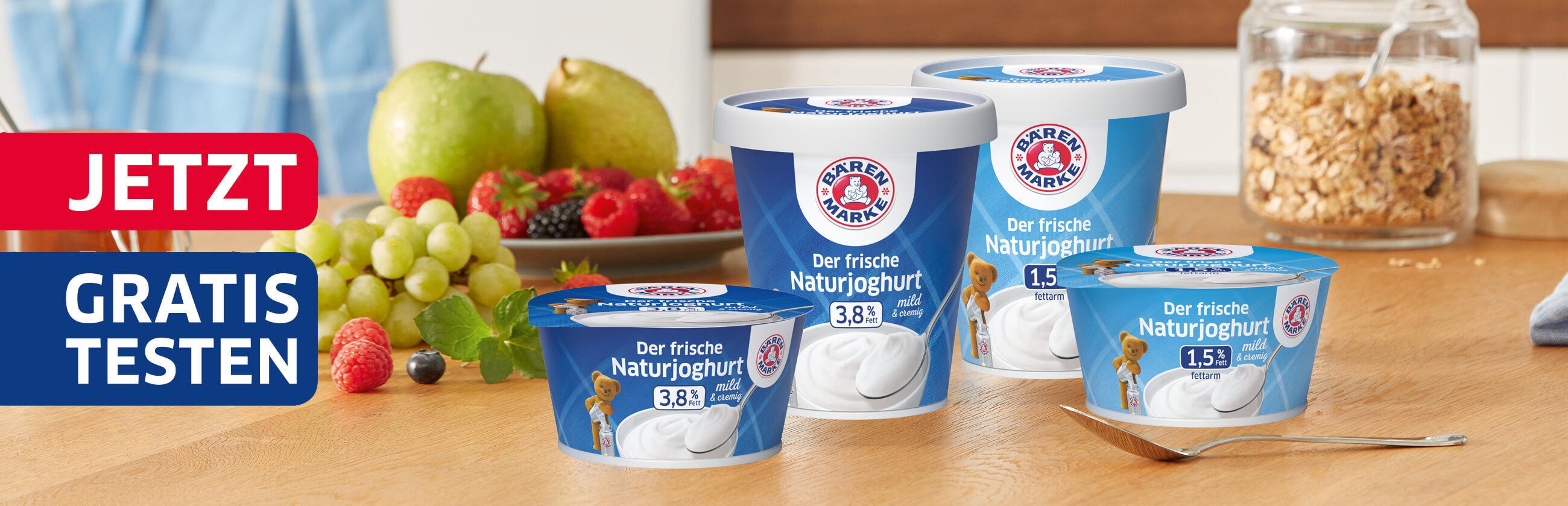GzG Bärenmarke Naturjoghurt