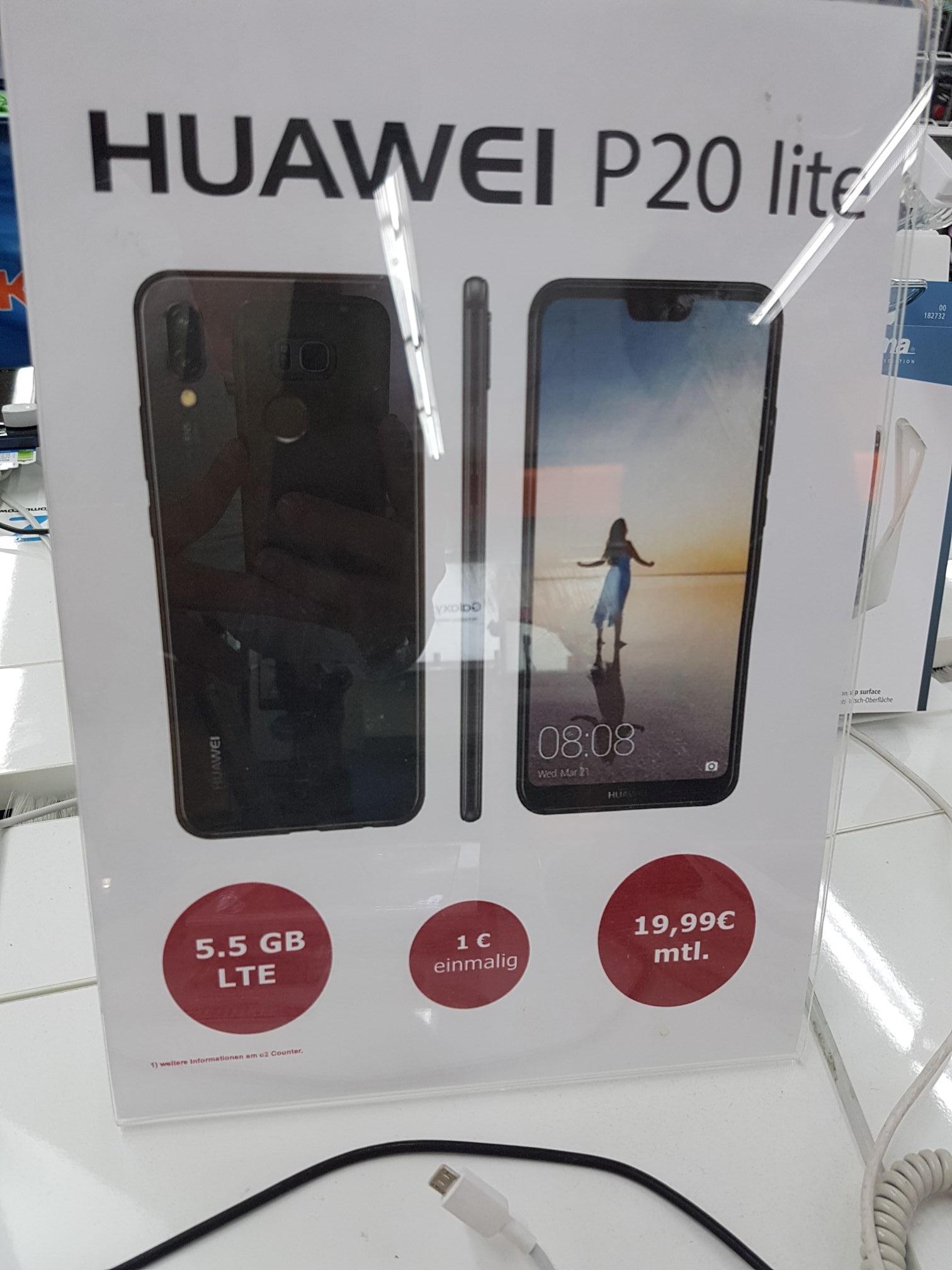 Huawei P20 Lite mit allnet flat 5.5gb lte LOKAL Saturn Remscheid