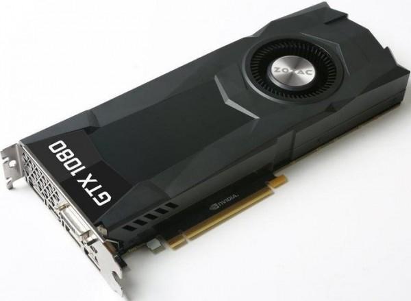 Nvidia GTX 1080 8GB von ZOTAC (Bulk)