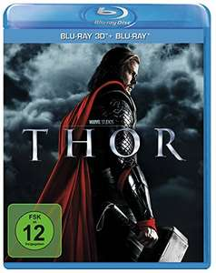 Thor (3D Blu-ray + 2D) für 11,50€ & The Return of the First Avenger (3D Blu-ray + 2D) für 9,98€ (Amazon Prime)