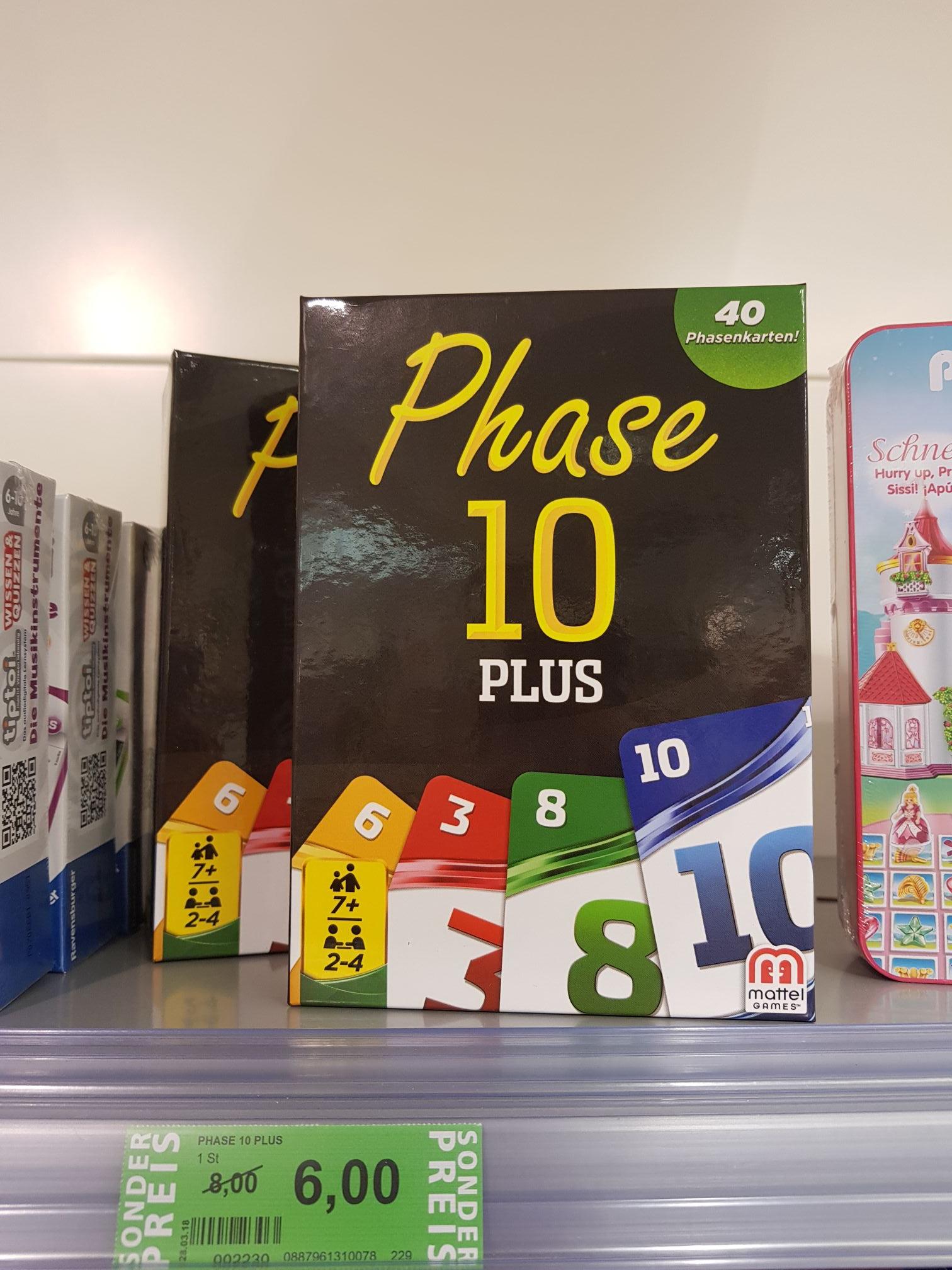 [Lokal] Rossmann Stade - Phase 10 Plus - Mattel