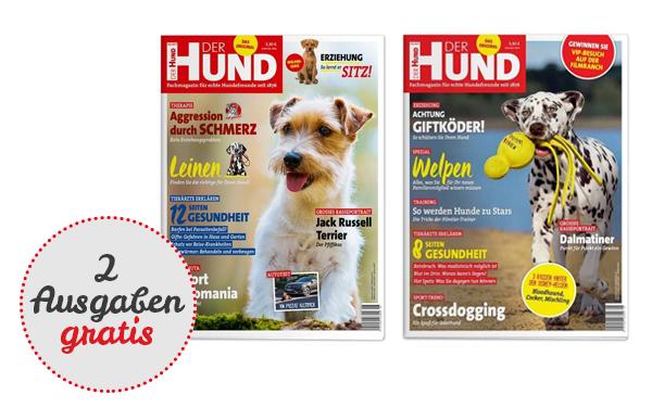 "2 Ausgaben ""Der Hund"" gratis (Kündigung nötig)"
