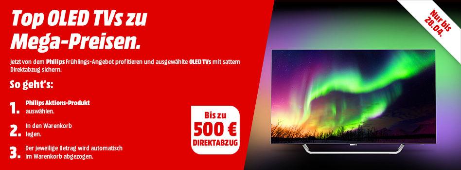 Philips OLED TVs Sammeldeal - z.B.  Philips 55POS9002/12 OLED TV für 1499€