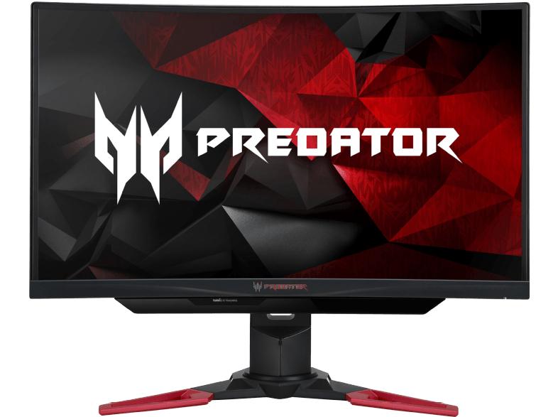 Monitor-Tiefpreisspätschicht: z.B. Acer Predator Z271T ergonomischer 27''-FHD-Curved-Monitor mit 144Hz, G-Sync und Eye-Tracking für 399€ [Mediamarkt]