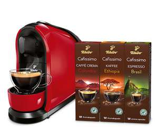 Tchibo: Cafissimo Pure inkl. 30 Kapseln für 25€ versandkostenfrei