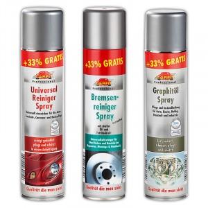 13 verschiedene Sprays für den Werkstattbedarf, jeweils 400ml für 2,99 Euro [Norma]