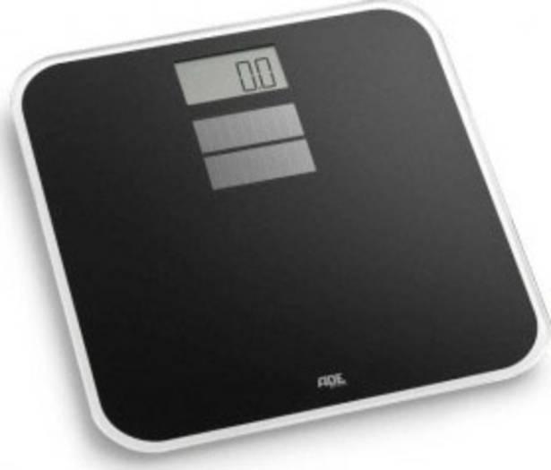 [Voelkner] ADE Digitale Personenwaage BE 1025 Sunny Wägebereich (max.)=150kg Schwarz Solarbetrieb