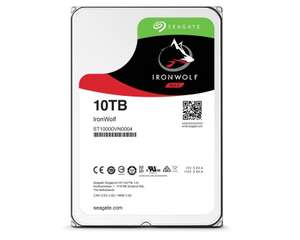 Seagate IronWolf NAS HDD 10TB - 7200rpm