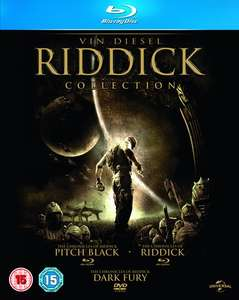 Riddick Collection und andere Titel [Blu-Ray] für 6,19€ @Zoom.co.uk