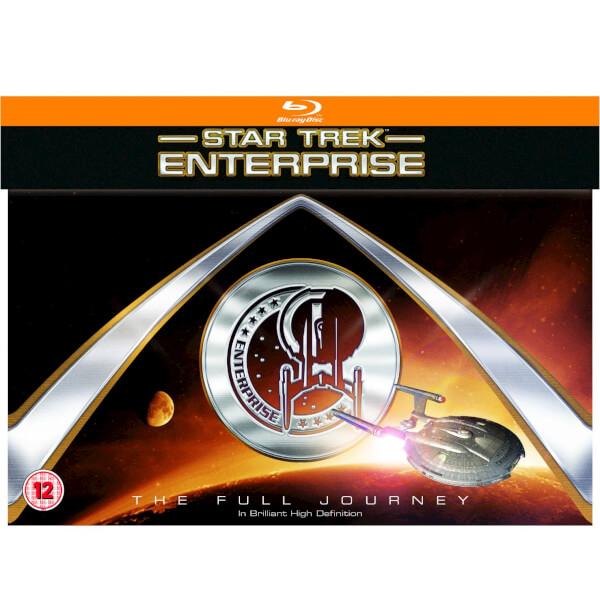 Star Trek: Enterprise - Die komplette Serie (Blu-ray) für 34,27€ (Zavvi)