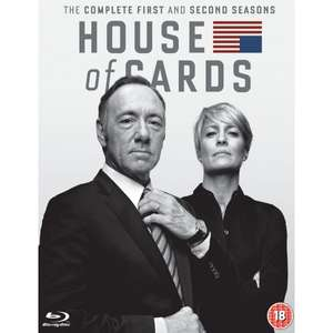 House Of Cards - Staffel 1 & 2 (Blu-ray) für 11,99€ (Shop4de)