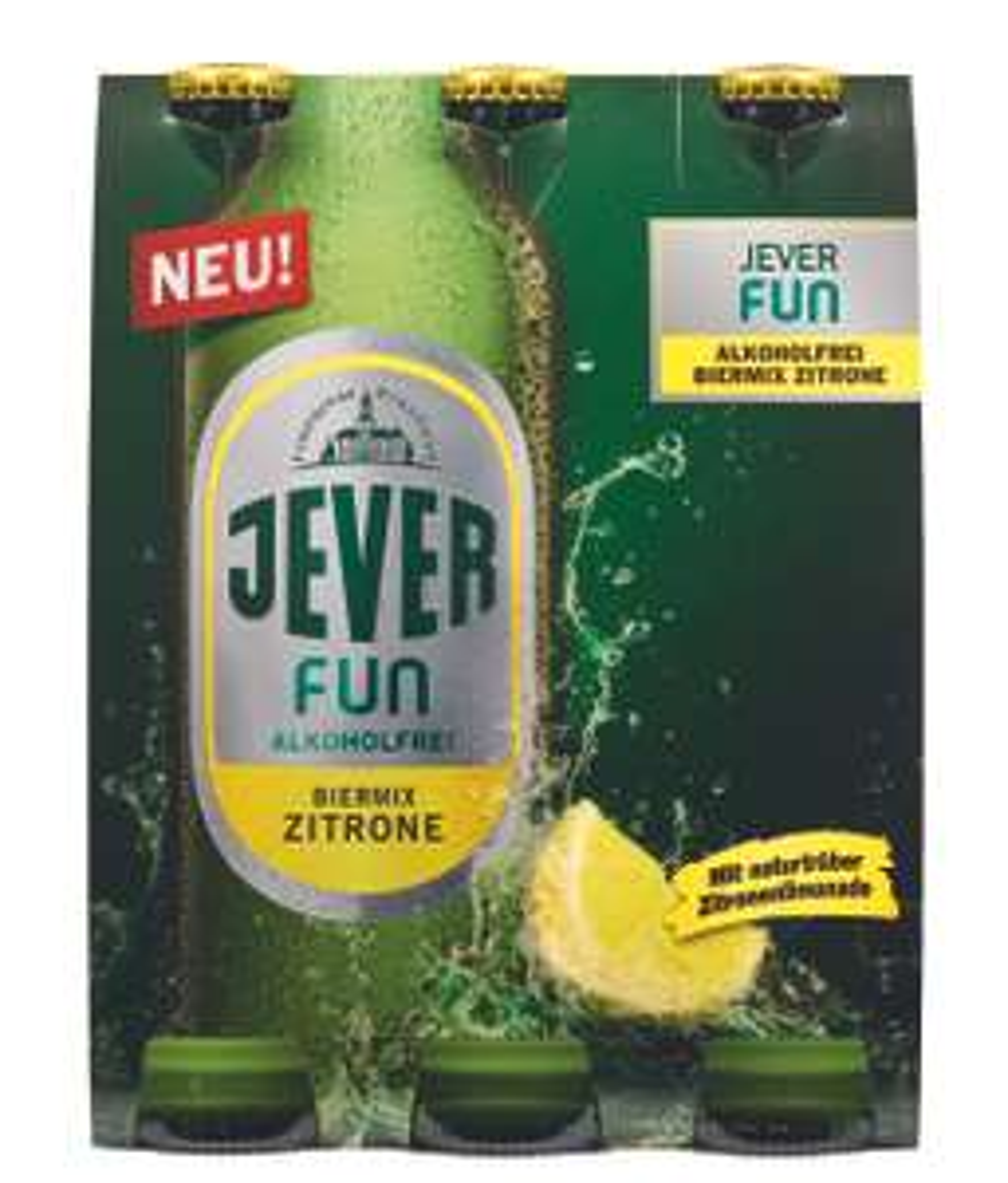 Sixpack Jever Fun Zitrone für 1,70€ bei Kaufland [Coupon]