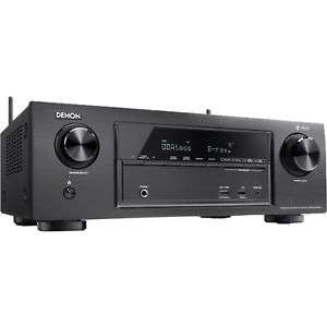 [alternate@eBay / amazon] Denon AVR-X1400H 7.2-Kanal AV-Receiver (HEOS Integration, Dolby Vision Kompatibilität, Dolby Atmos, dtsX, WLAN, Bluetooth, Amazon Music, Spotify Connect, 4K/60Hz 6 HDMI-Eingänge, 7x 145 W) schwarz