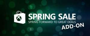 Spring Add-On Sale (Xbox) mit Rabatten bis 85%