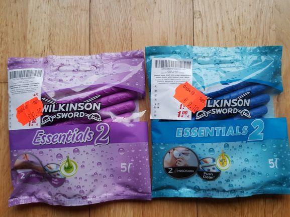 """""""Wilkinson Essential 2""""   (2 Cent Pro Rasierer) @ Kik Bundesweit"""