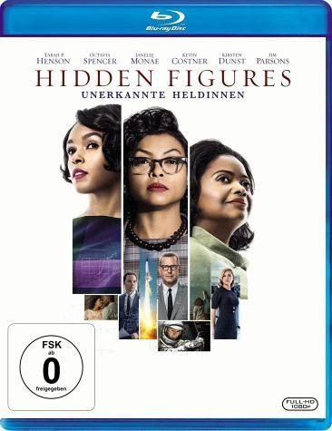 Hidden Figures - Unerkannte Heldinnen (Bu-ray) für 6,77€ (Amazon Prime & Doax)
