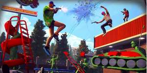 (Steam) Radical Heights - BATTLE ROYALE Shooter im 80er Look