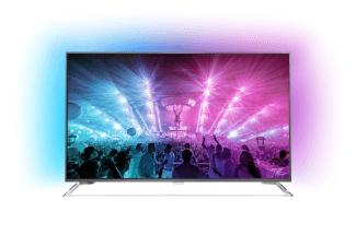 "75"" Zoll 4K UHD Fernseher mit Ambilight PHILIPS 75PUS7101/12 Smart TV"