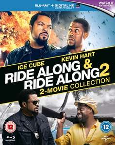 Ride Along 1-2 (2x Blu-ray + Digitale Kopie) für 6,20€ (Zoom.co.uk)