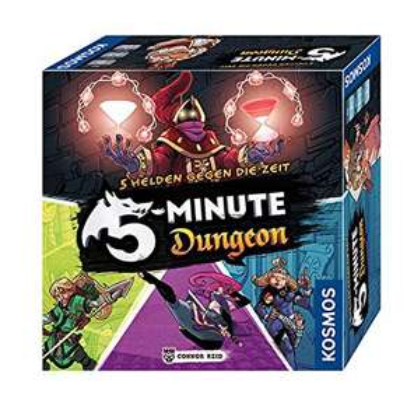 Spiel: Kosmos 5-Minute Dungeon für Kinder ab 8 Jahren - mit Prime