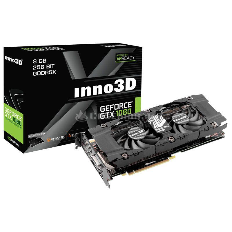 INNO3D GeForce GTX 1080 Twin X2, 8192 MB GDDR5X