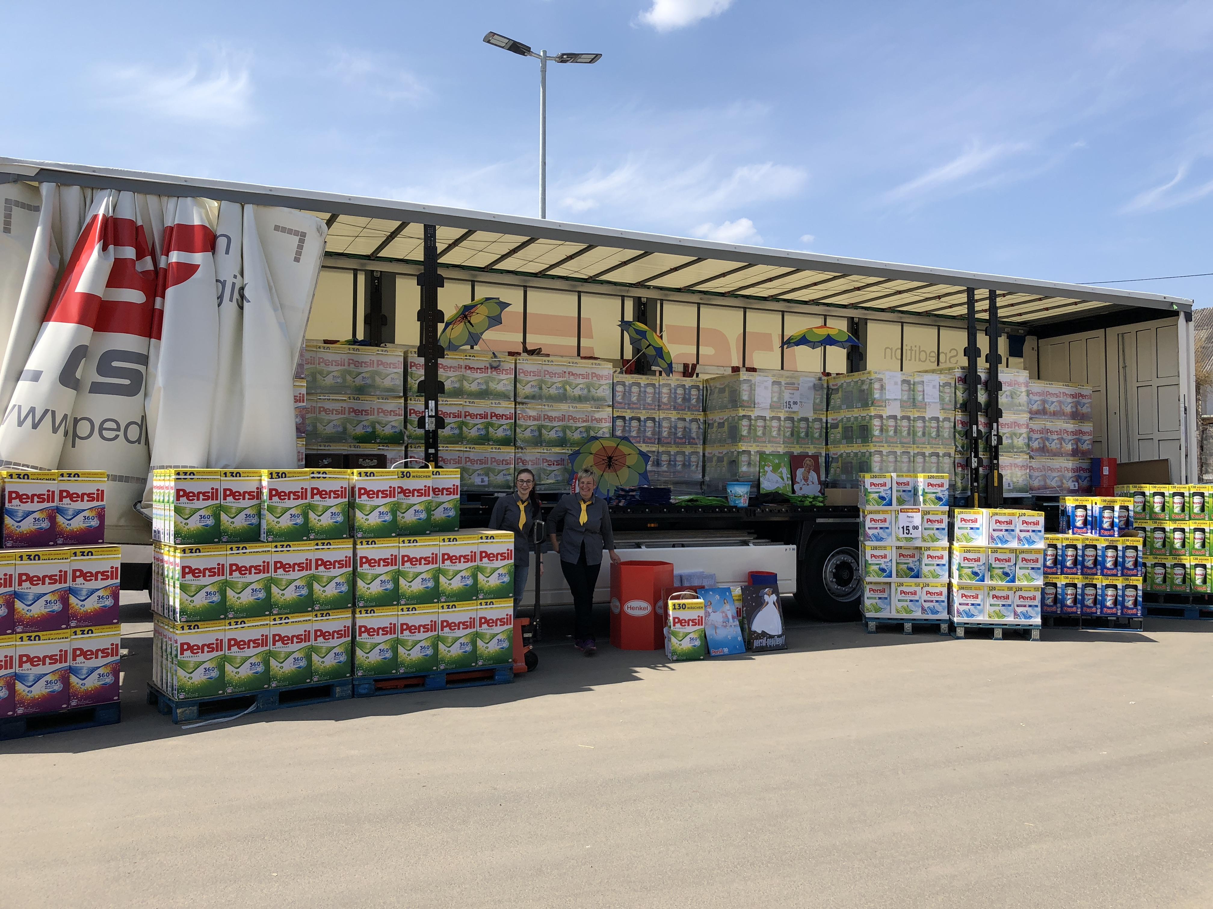 [Lokal Hirschau] Henkel Persil Waschmittel Neueröffnung Edeka Schiml