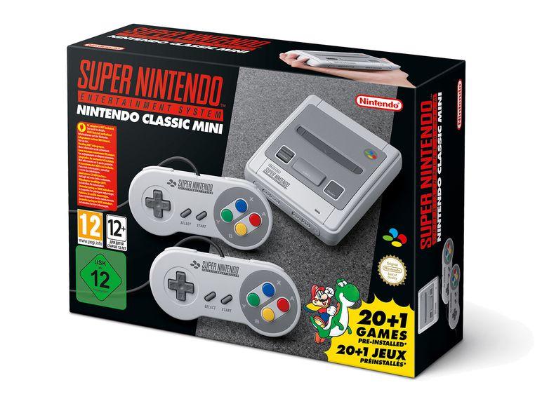 Super Nintendo Classic Mini über Lidl Online Shop