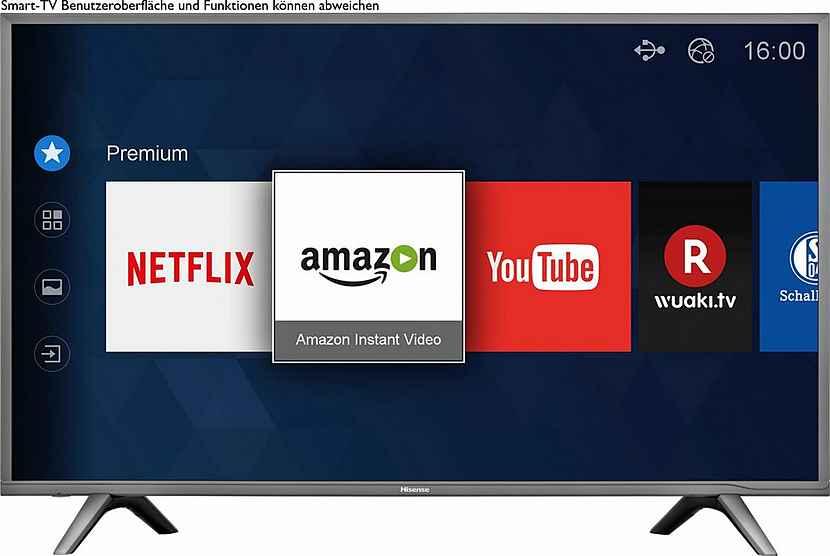 Hisense H49NEC5605 49 Zoll 4K HDR Fernseher bei Otto.de (ggf. 379,99 € und 346,94 € möglich)