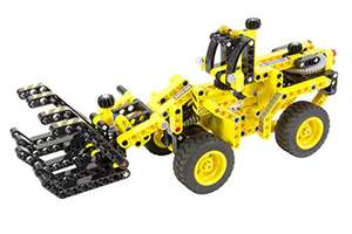 ( Amazon Prime ) Teknotoys 85000053 - Active Bricks 2in1 Holzlader und Dünenbuggy