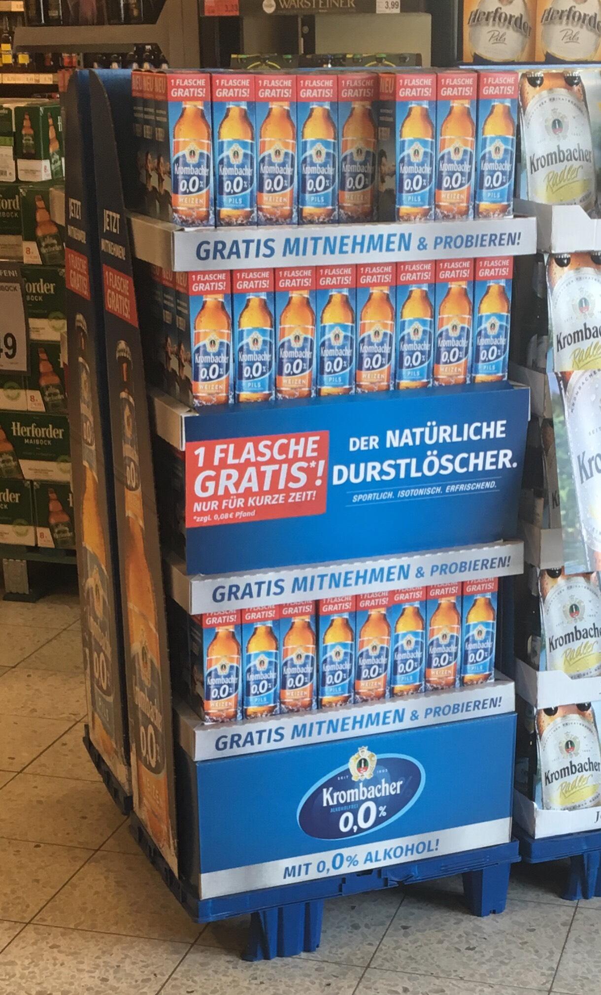 Lokal Steinhagen Combi - gratis Krombacher Pils/Weizen 0,0%