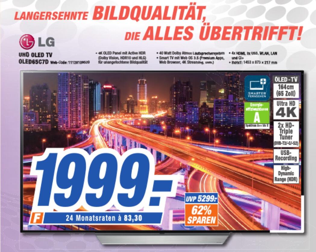 LG OLED TV 65C7D [Lokal expert Würzburg]