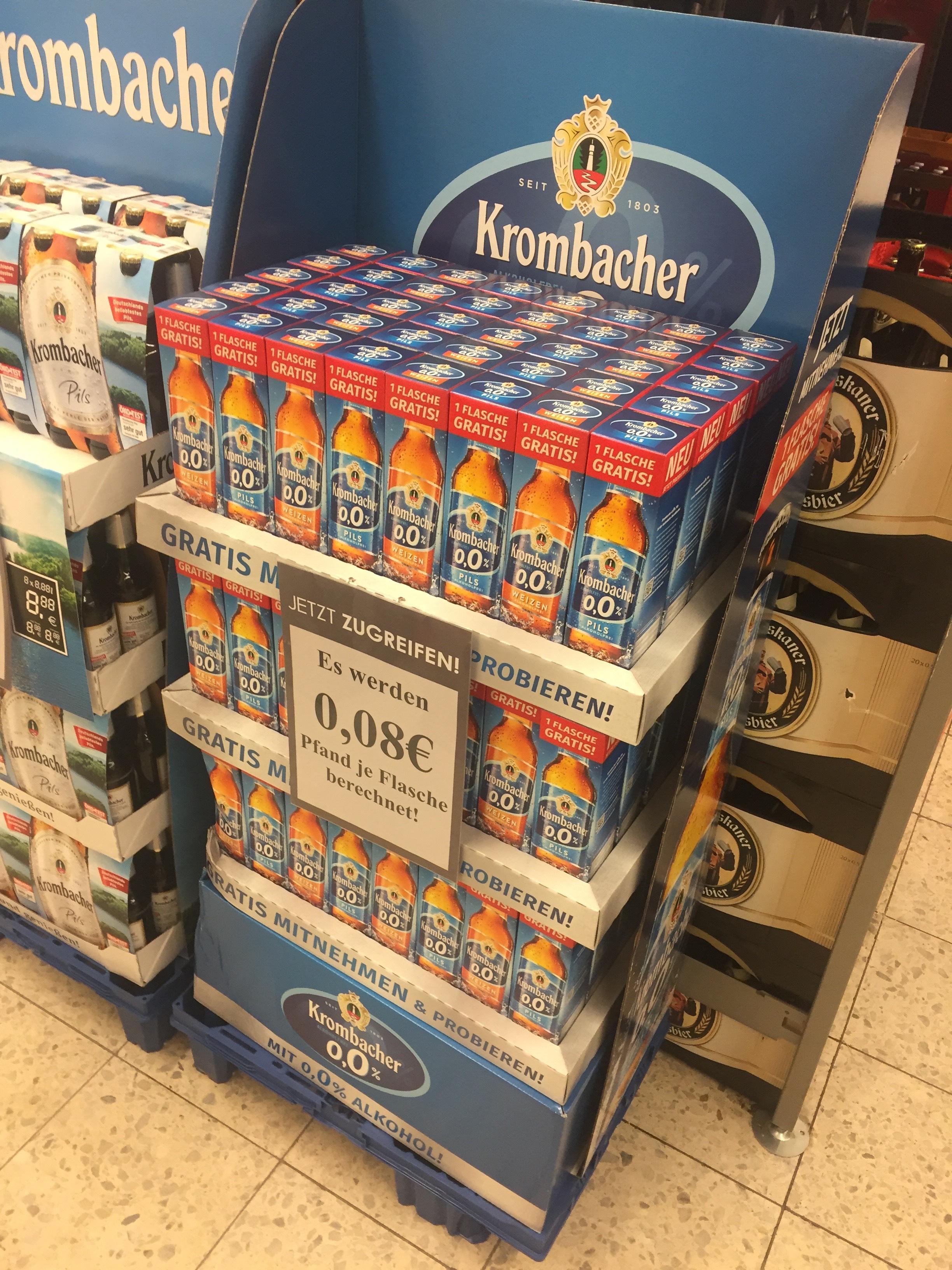 Lokal: Kombi Rohrsen. Gratis Bier und Weizen.