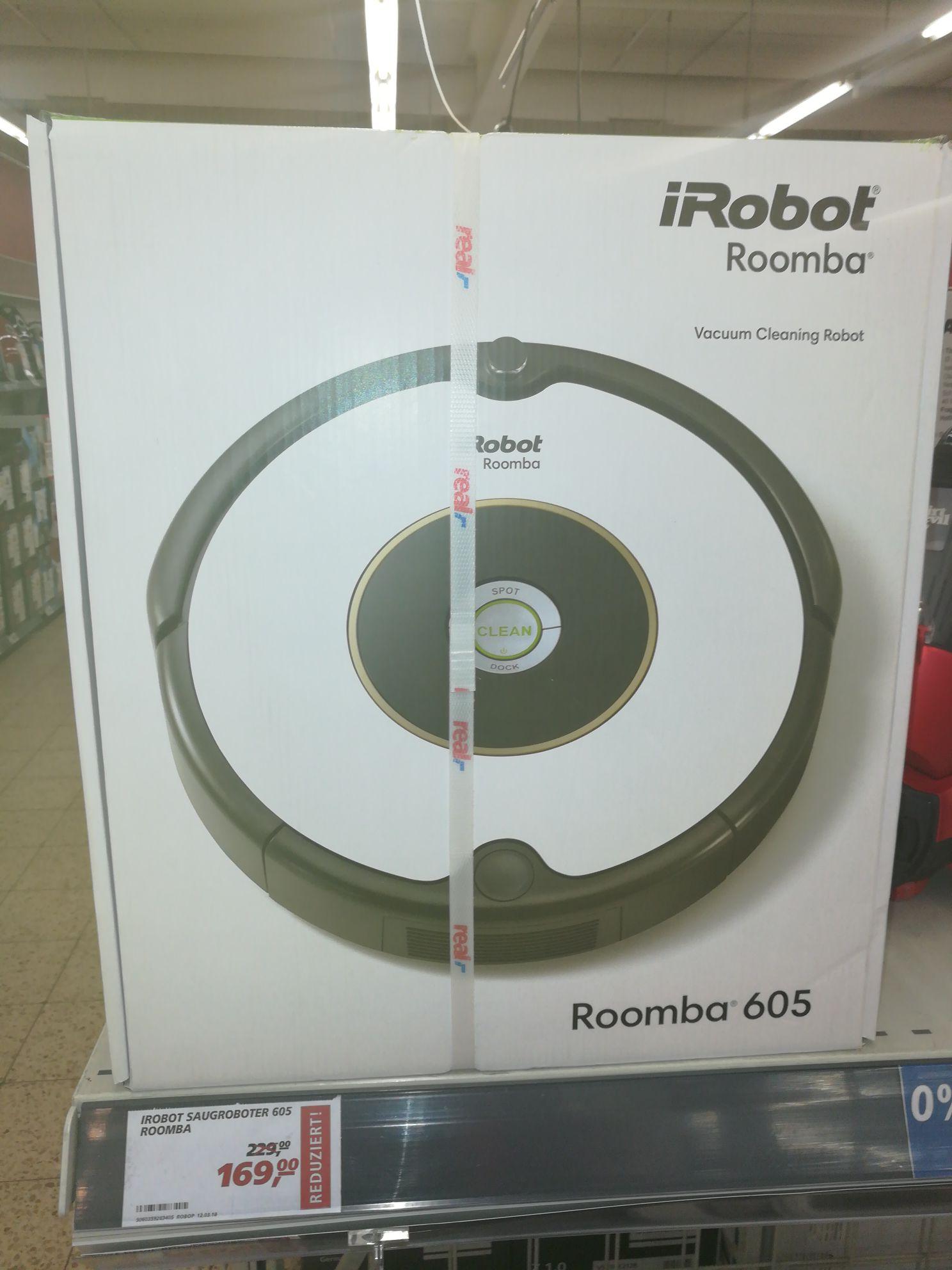 Real Hamm Irobot Roomba 605 Saugroboter