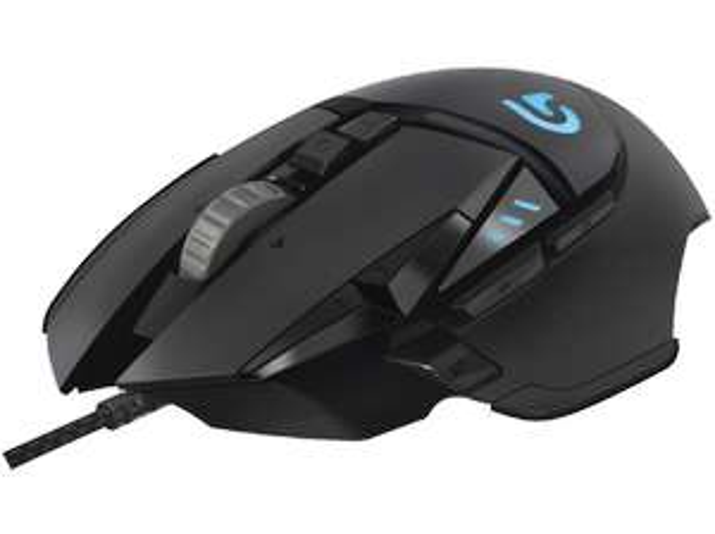 [Mediamarkt] Logitech G502 Proteus Spectrum RGB Tunable Gaming Maus, Schwarz (Kabelgebunden) für 39,-€