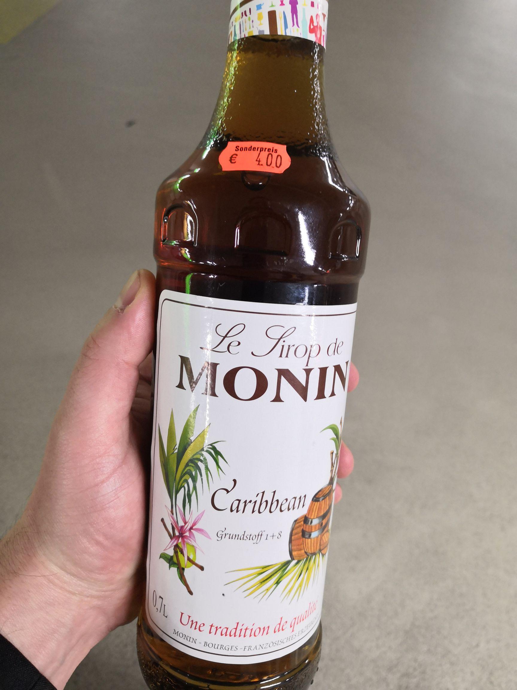 Monin Sirup Caribbean Rum 0,7l - lokal Perfetto im Forum Duisburg