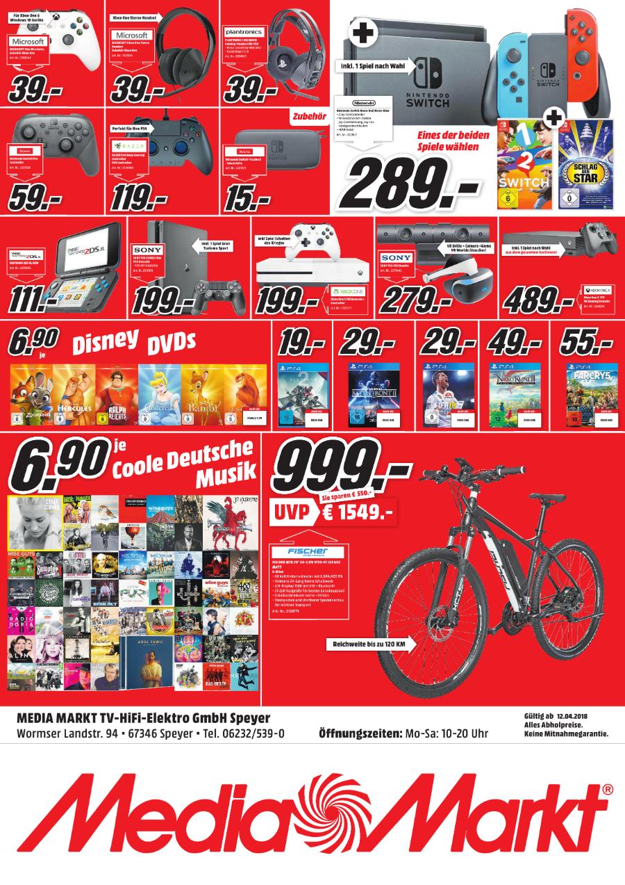 (LOKAL) Nintendo 2DS XL im MediaMarkt Speyer