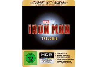 [Mediamarkt] Iron Man Trilogie - Limited 4K Ultra HD Edition im Steelbook [4K Ultra HD Blu-ray + Blu-ray]  für 44,-€