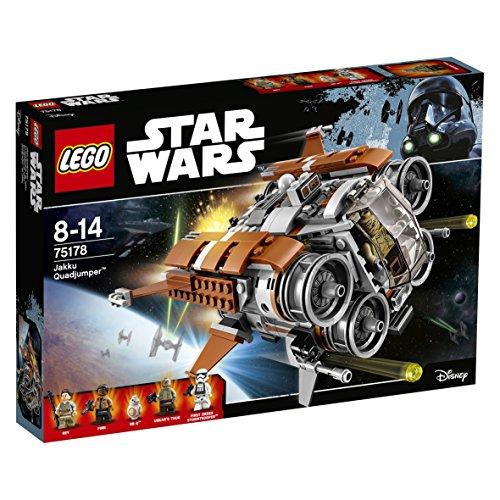LEGO Star Wars 75178 - Jakku Quadjumper / 75177 First Order Heavy Scout Walker Amazon Prime je 35,99€