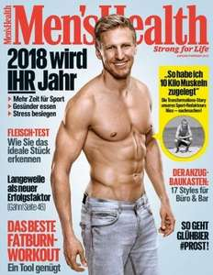 3 Monate Men's Health für 16,20€ + Scheckprämie (16,20€)