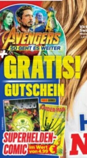 "Marvel Panini Comic ""gratis"" (nur fast!) statt 4,99€"
