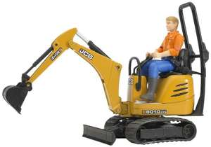 [AMAZON PRIME] Bruder 62002 - JCB Mikrobagger 8010 CTS mit Bauarbeiter
