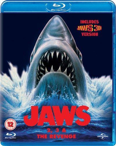 Zoom: Der weiße Hai 2, 3 (3D) und 4 (Jaws 2 / 3 (3D) / The Revenge) Boxset für 8,61€ inkl. VSK