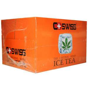 [ebay] CSWISS Cannabis Ice Tea MDH 01.05.18