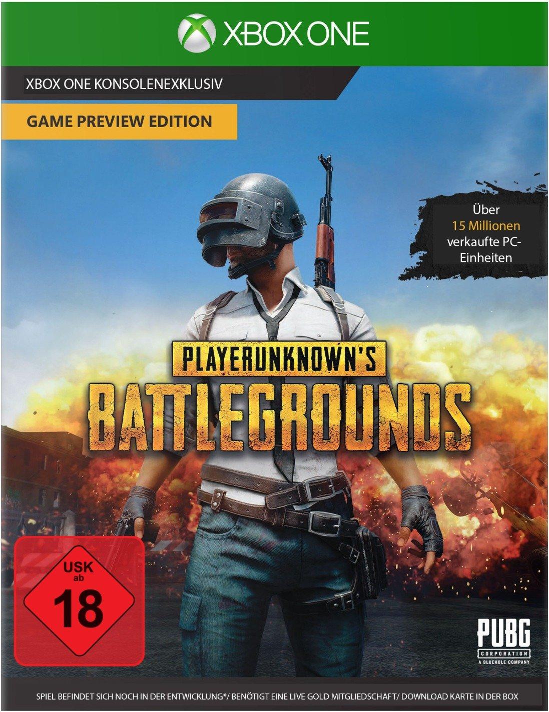 PlayerUnknowns Battlegrounds - 19. bis 22. April 2018 kostenlos spielen (Xbox One / Gold)