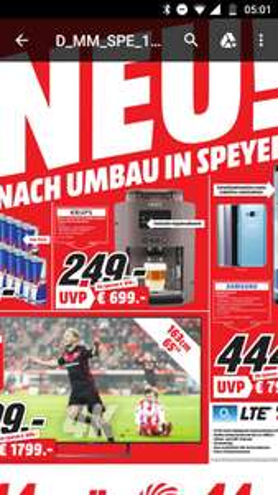 KRUPS EA815P Kaffeevollautomat Platinum Lokal in Speyer