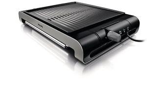 Philips HD4417/20 Tischgrill als Neuware mit beschädigter OVP (2000 Watt, 6mm Grillplatte) [philips@eBay]