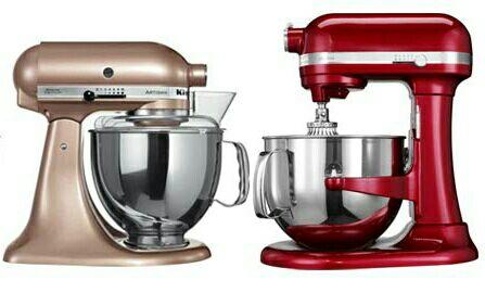 KitchenAid Artisan - 300W, 4,8l für 323.86€ (oder Refurbished für 277.29€) / KitchenAid Pro - 500W, 6.9l für 408.81€ Wahl der Farben (Amazon.com)